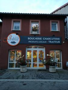 Boucherie façade