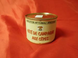 Pâté de campagne aux cêpes